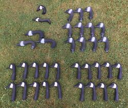 Unbranded Plastic Goose Canadian Geese Heads Decoy Lot Of 35 Bundle