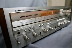 Vintage Pioneer Sx-1250 Stereo Reciever. Powers On. Great Cond. Free Shipping.