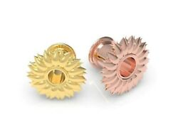 Ear Tunnel Earring Rose Gold Gauges Plugs Piercing Stretching Jewelry Platinum