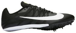 New Nike Zoom Rival S Mens 12 Track And Field Sprint Racing Shoes 907564-017 Black