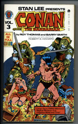 Complete Marvel Conan The Barbarian Vol 3 Vf 8.0 1978 Marvel Barry Smith Art