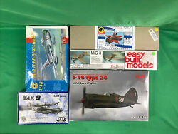 Miscellaneous Russian/soviet Aircraft Of Various Scales