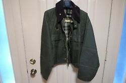 Barbour- A130 Spey Wading Wax Cotton Jacket -made In Uk- Vintage- Rare - Large