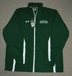 Nwt Michigan State Spartans Hockey Under Armour Full Zip Jacket Large