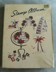 Vintage 1960 Teen Time World Wide Stamp Album Unused Nice Condition Collectible