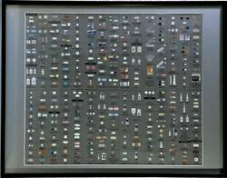 Unused Damien Hirst Pharmacy Wallpaper Silver Color Contemporary Art Rare