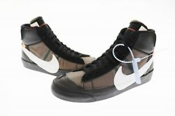 Nike Off-white The10 Blazer Mid B Leather Sneakers 832-001 29