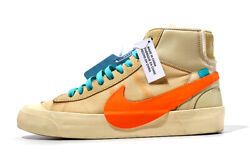 Nike Off-white The 10 Blazer Mid All Hallows Eve B Leather Us9.5