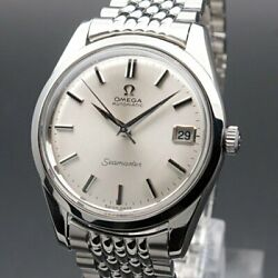 Omega Seamaster Vintage Overhaul Cal.565 Automatic Mens Watch Authentic Working