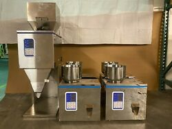 Used Bundle Auto Powder Weigh/filler Machine For Tea/seed/grain 10999g 110v