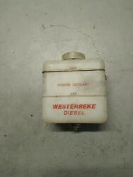 Westerbeke Diesel Engine Coolant Recovery Plastic Tank 5 X 5 Sailboat