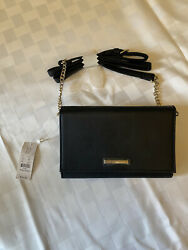 Brand New Black Crossbody Bag With Tags $20.00