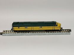 Very Rare Overland Models Brass N Scale Candnw Chicagoandnorth Western E7a 5018a