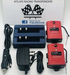 Mylaps / Amb Tranx260 No Subscription Required Car/bike Transponder Dual Combo
