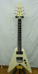 Used Fernandes Flying V Electric Guitar Other Body Types With Gig Case