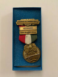 1980 Central Virginia Civil War Reenactment Musket 3rd Medal Confederate Union