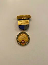 1979 Guilford Grays Civil War Reenactment Musket Medal Confederate Union