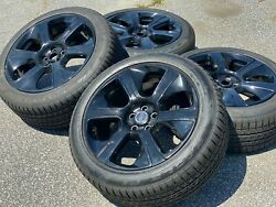 New Set Of 4 Oem Factory Land Rover Ranger Rover 21 Takeoff Tires And Wheels