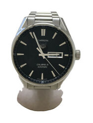 Wristwatch Tag Heuer Carrera Calibre 5 War201a-1 Menand039s Used Silver Automatic