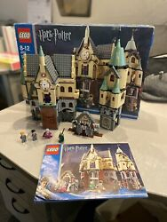 Lego 4757 Harry Potter Hogwarts Castle 2004 Complete With Box And Manual