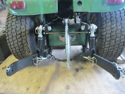 New Ruegg 3 Point Hitch Kit Fits John Deere 140 300 317 Made In Usa