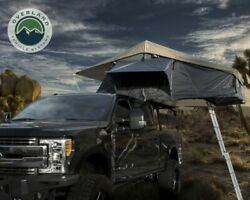Ovs Roof Top Tent 4 Person Extended Dark Gray/green With Bonus Pack Nomadic
