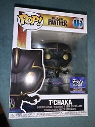Black Panther Tand039chaka Funkopop Popcultcha/funko Hollywood Confirmed Exclusive