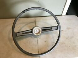 1962 Chevy Belair Steering Wheel And Horn Button Trim Used Hot Rod Chevrolet Gm