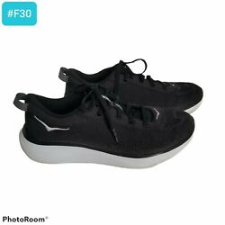Hoka One One Hupana Flow Running Shoes Black 1102890 Low Top Mesh Menandrsquos Size 8
