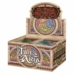 Tales Of Aria 1st Edition Booster Box Flesh And Blood