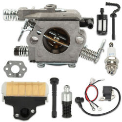 Carb Carburetor Ignition Coil Air Filter For Stihl 021 023 025 Ms230 Ms210 Ms250