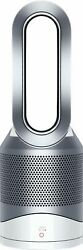 Dyson Hp01 Pure Hot + Cool Air Purifier Heater And Fan, White/silver