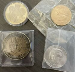 The Beatles Collectible Coins - Set Of 4