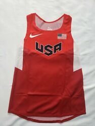 Nike Pro Elite Women Usa Distance Singlet Size Small Track And Field