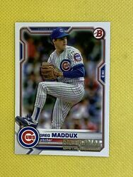 GREG MADDUX 2021 Bowman National Convention Exclusive Base Card