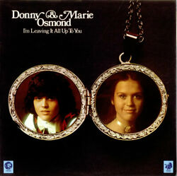 Donny Marie Osmond - I'm Leaving It All Up To You - Vinyl Record - 7900