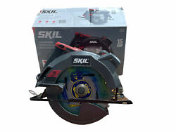 Skill Circular Saw With Laser Guide 15 Amp Electric 7-1/4 Inch Blades Skill Saw