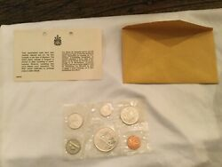 1966 Canada 6 Coin Proof-like Set - 1.1 Oz Of Silver