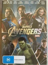 Dvd Marvels Avengers - The Super Hero Line-up Of A Lifetime In In One Movie