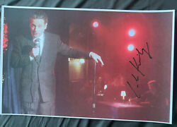 Luke Kirby Signed 11x17 Marvelous Mrs Maisel Poster Photo Lenny Bruce Stage Red