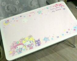 Used Sanrio Pretty Guardian Sailor Moon My Melody Folding Table W60 D40 H29.5