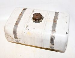 Cub Cadet 86 Garden Tractor Gas Fuel Tank And Straps Riding Lawn Mower Part
