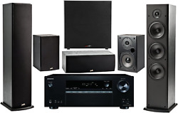Onkyo 5.2 -channel Wireless 4k 3d A/v Surround Sound Multimedia Home Theater Sy