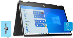 Hp 14-dh2011nr-11gen Home And Business Laptop 2-in-1 I5-1135g7 4-core 64gb Ra