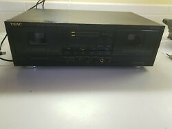 Teac W-520r Dual Cassette Deck Dolby Hx Pro - Tested Vintage Stereo Player