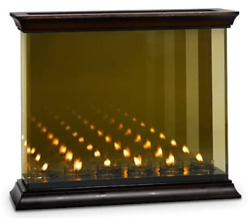 Partylite Infinite Infinity Mirror Reflections Mirrored Candle Votive Holder