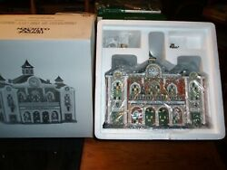 Dept 56 Christmas In The City Grand Central Railway Station Nib