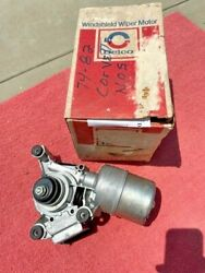 1974-1982 Gm Buick Cadillac Oldsmobile Nos Windshield Wiper Motor 4960974