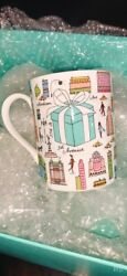 Brand New Limited Edition And Co. Porcelain Bone China Mugs Set Of 4