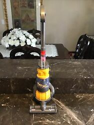 Awesome Kids Yellow Dyson Ball Toy Vacuum With Real Suction And Sounds By Cadson